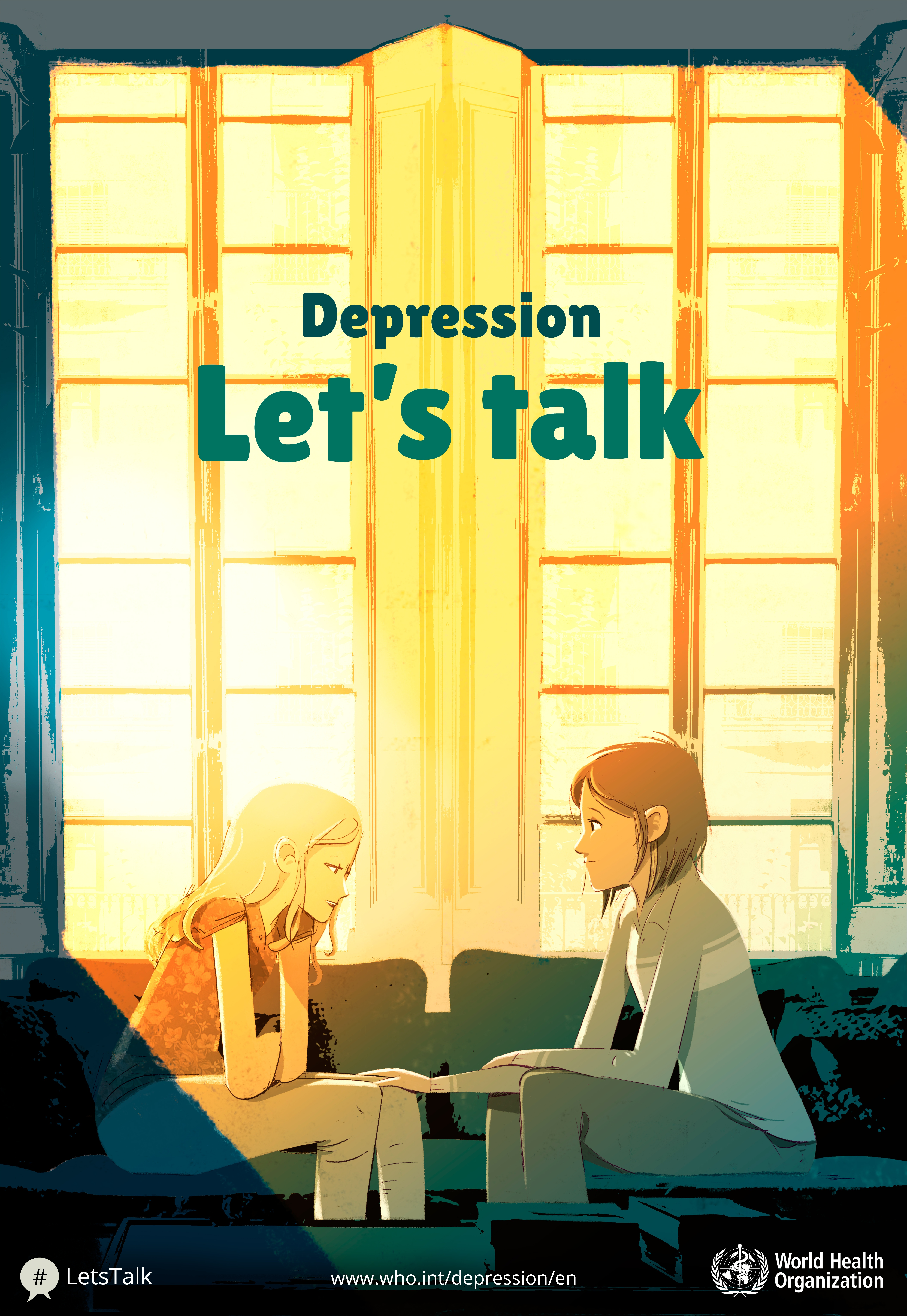 April 7th is World Health Day, and the 2017 theme is Depression: Let's Talk.