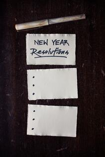 new year resolutions paper