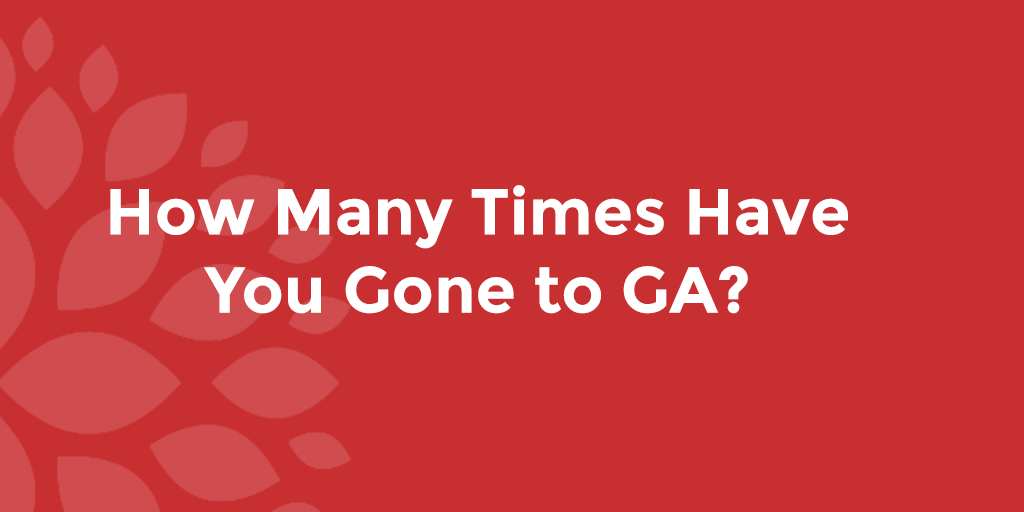How Many Times Have You Gone to GA?